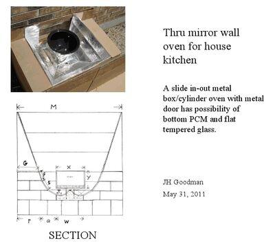 Joel Goodman Thru-wall Mirror oven 5-31-11