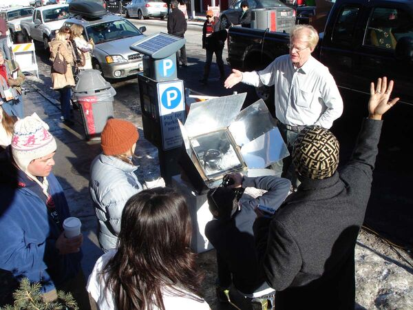 Ed Begley Jr at Sundance Film Festival 2007