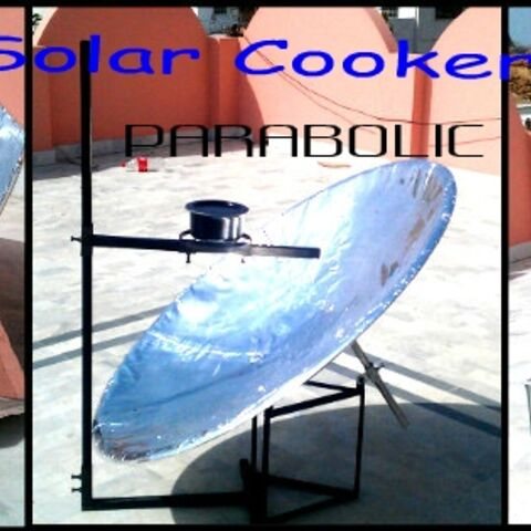 3 Solar Cooker made by Pakistan Students
