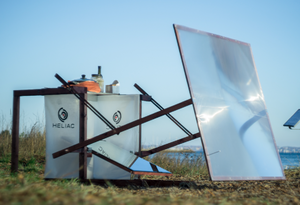 Heliac Solar Cooker, (credit Heliac), 2-15-17