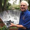 Paul Van Buren with Haines cooker, 10-7-15
