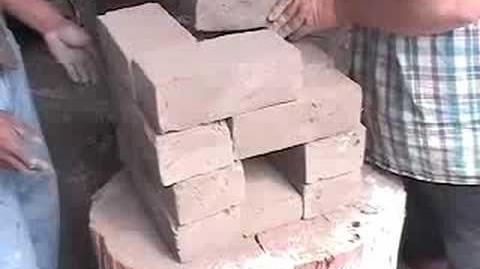 How to Make a 16 Brick Rocket Stove