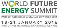 World Future Energy Summit 2016