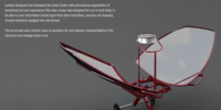 Lumium Butterfly Solar Cooker