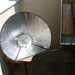 Fig. 10. Cuisson solaire sur le balcon