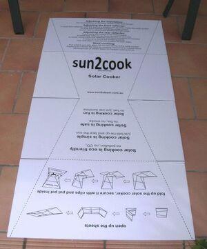 Sun2Cook 1, 1-25-12