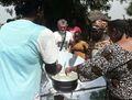 Cucinare con il Sole, first solar cooking, 1-21-14.jpg