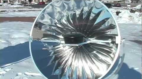 SunPower Cooker in cold weather