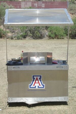 Arizona Solar Stove, Perry Li, 7-28-14
