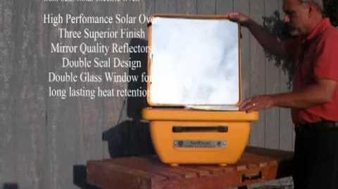 SunFocus Solar Electric Oven