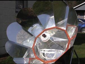 Solar Chef interior 2-7-12