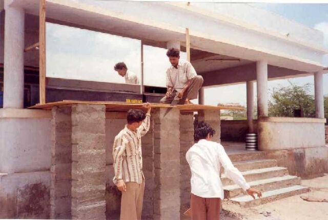 File:Installation of solcafe in progress at Ashramsh-Kotharaa.jpg