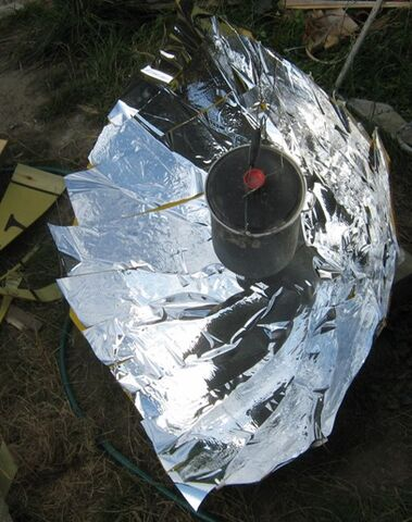 File:Compound Parabolic Solar Cooker.jpg
