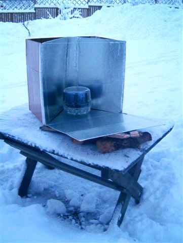 File:Big collapsible reflective open box cooker.JPG