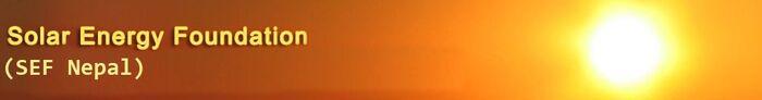 Solar Energy Foundation logo, 3-14-12
