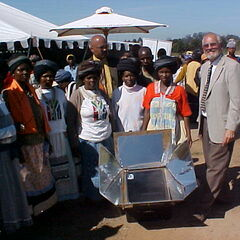 Sun Oven Demo in South Africa