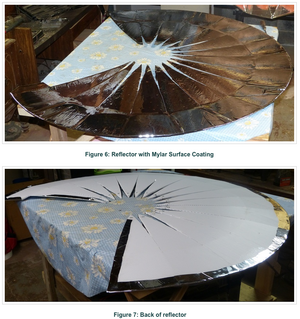 Hypar Solar Cooker assembly photos, 1-13-16