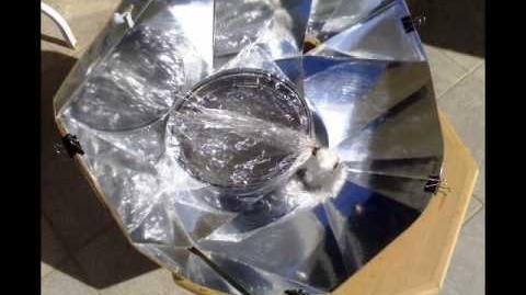 LAVRAKI IN DIAMOND SOLAR OVEN