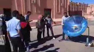 Tagine solaire dans un cuiseur solaire à Ouarzazate par Solarama(maroc-solaire.com).