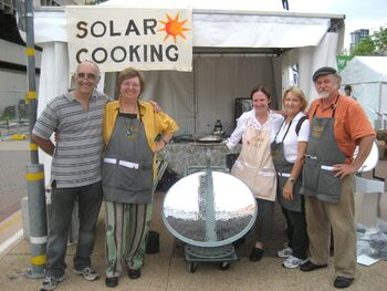 Sizzling Solar Systems-GreenFest 2008