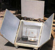 Box cooker in Mali