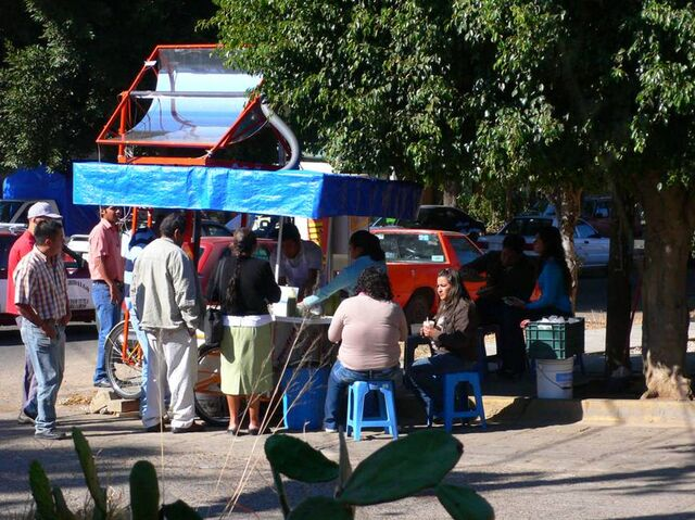 File:First day of operation- Solar taco stand in Oaxaca, Mex.jpg