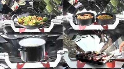 Greencook barbecue solaire COOKUP200-0
