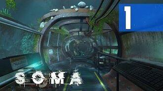 SOMA 1 - Simon's Apartment, Subway, Munshi's Lab, Awakening Walkthrough PC HD