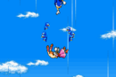 Sonic advance 2 ending Sonic trying to reach Vanilla