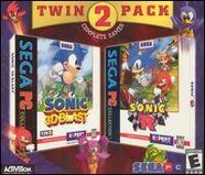 Twin 2 Pack Sonic 3D Blast Sonic R
