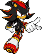 Sonic Art Assets DVD - Shadow The Hedgehog - 5
