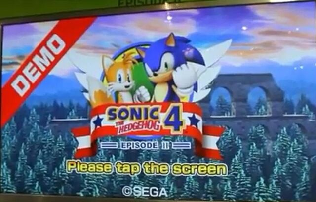 File:Sonic 4 Demo Screen.jpg