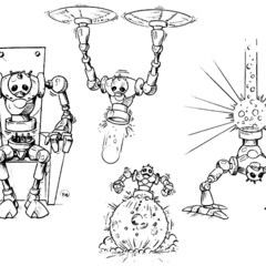 Otro concepto de <i>Cybernik</i>.