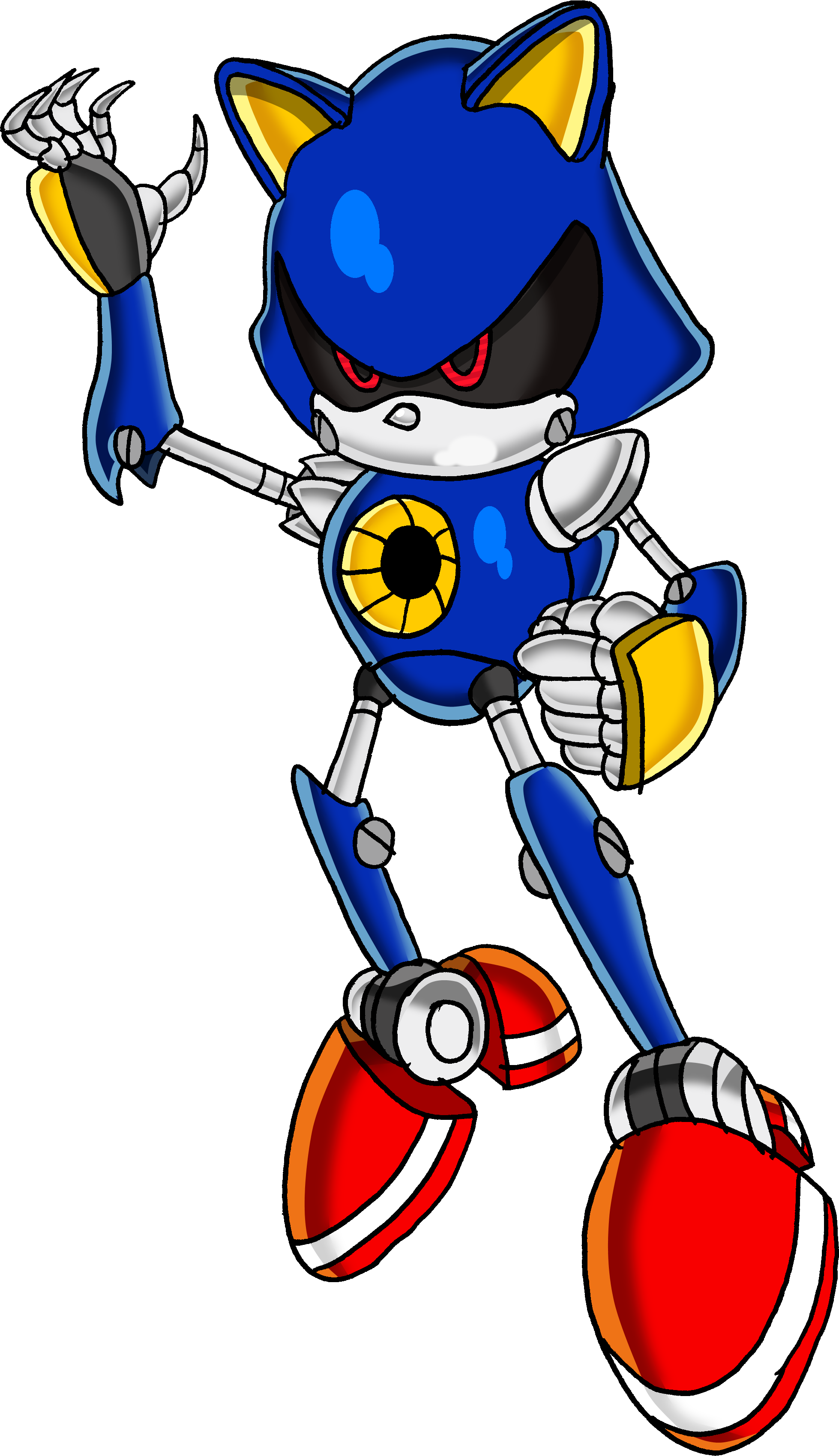 Image - Metal Sonic Tails19950.png | Sonic News Network ...