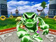 Sonic Heroes - Metal Vector 2
