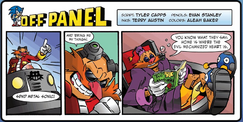Archie Sonic the Hedgehog Issue -255 Off Panel