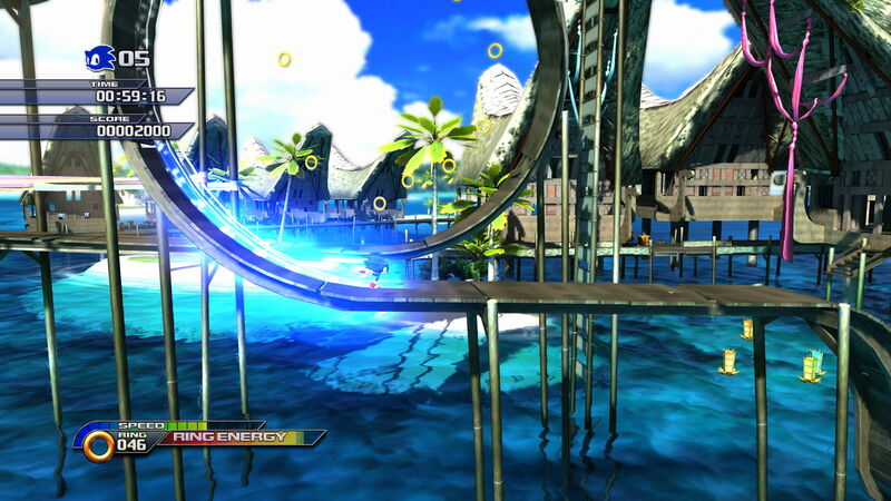 sonic unleashed game  free
