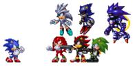Los Rivales oficiales de Sonic
