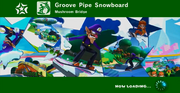 Groove Pipe Snowboard Title Card
