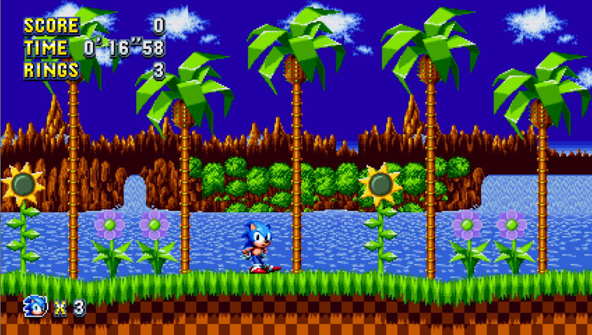 Image result for sonic green hill zone