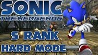 Sonic The Hedgehog 2006 - Sonic Radical Train - Hard Mode S Rank