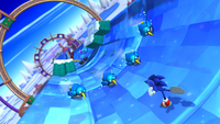Penguinators in Sonic Lost World