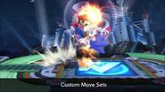 SSB4 Custom Super Jump Punch on Sonic