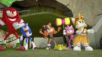 Team sonic ready to fight