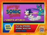 Robots-attack-main-menu