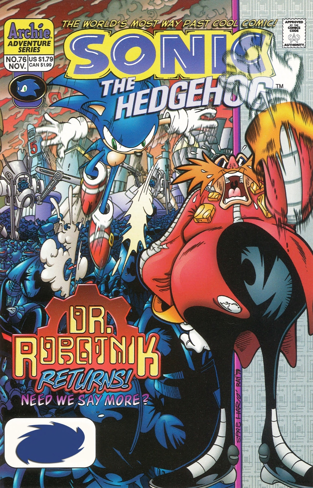 File:Archie Sonic the Hedgehog Issue 76.jpg