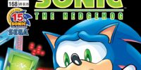 Archie Sonic the Hedgehog Issue 168