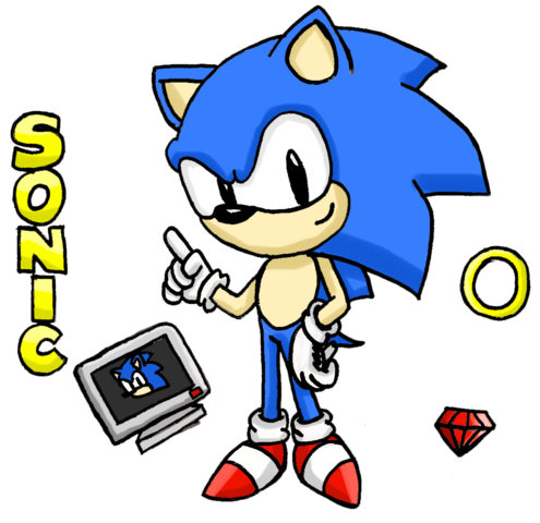 File:Classic Sonic by HYRO colored.png