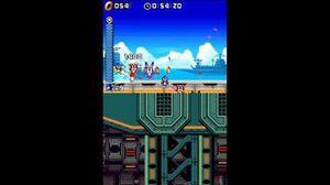 DesMuMe Sonic Rush Huge Crisis Act 1 - Sonic, 1080p 60FPS