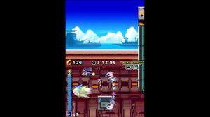 DesMuMe Sonic Rush Huge Crisis Act 2 - Sonic, 1080p 60FPS